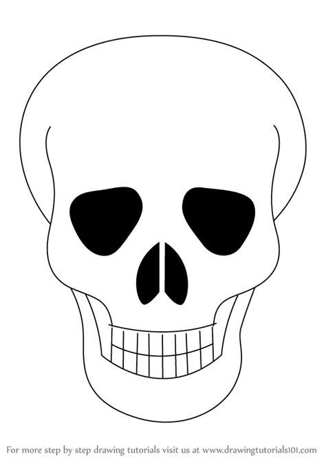 learn   draw skull easy skulls step  step