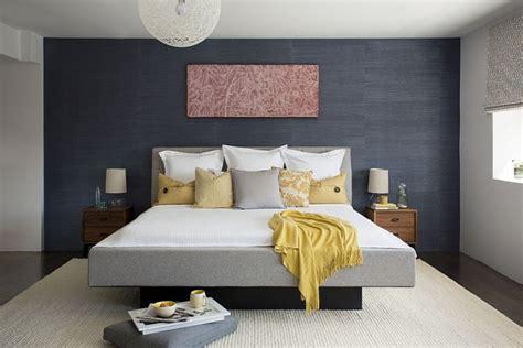 mur de chambre déco chambre mur gris