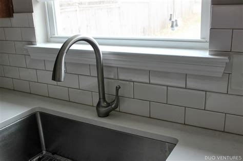how to tile a kitchen window sill duo ventures kitchen update paint touch ups window sill 9583