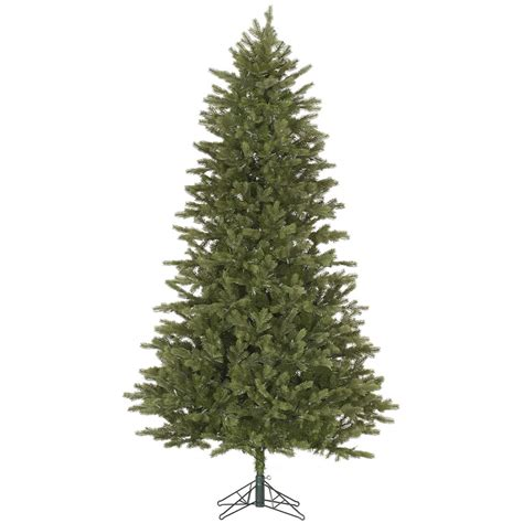 12 balsam fir artificial christmas tree no lights slim