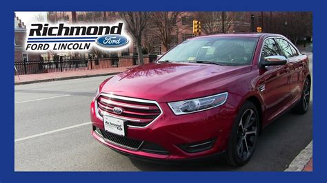 ford taurus review youtube
