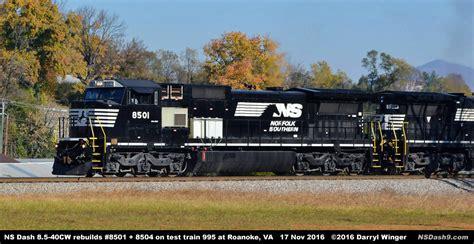 Norfolk Southern Testing EMD SD70ACe-T4 Tier Locomotives