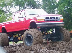Lifted Ford Mud Trucks