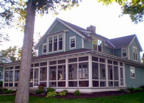 wrap around porch houses for sale a casual but luxurious lake home for sale in indiana