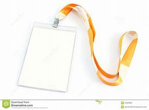Blank Id Card Tag Stock Photo  Image Of Contact  Office
