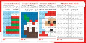 christmas multiplication mosaic worksheet worksheets christmas nativity