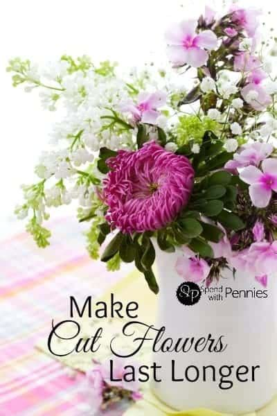 Make Cut Flowers Last Longer by Make Cut Flowers Last Longer With These Simple Tips