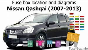 Fuse Box Location And Diagrams  Nissan Qashqai    Qashqai 2