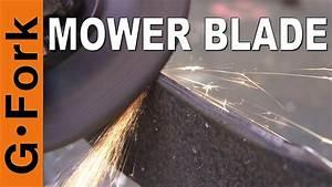 How To Sharpen Lawn Mower Blades Best Way