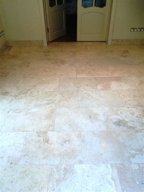 Deep Cleaning And Polishing A Limestone Tiled Kitchen