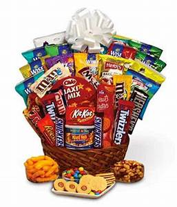 Super Sweet Snack Gift Basket at From You Flowers