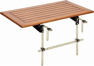 Tisch Für Balkongeländer : balkontisch gel nder kreative ideen f r innendekoration und wohndesign ~ Whattoseeinmadrid.com Haus und Dekorationen