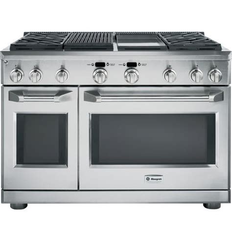 zdpngpss ge monogram  dual fuel convection ng range stainless bray scarff appliance