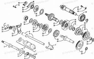 Arctic Cat Atv 2006 Oem Parts Diagram For Transmission Assembly