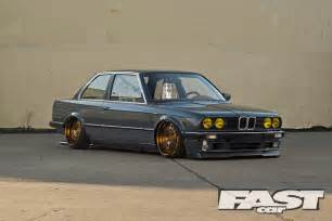 back hook modified bmw e30 fast car