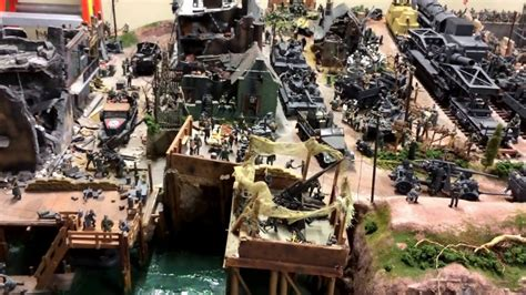 large model ww  scale diorama  personal collection