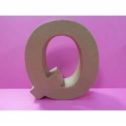 Lettre En Carton À Peindre : lettre en carton q 1 polystyr ne ~ Nature-et-papiers.com Idées de Décoration