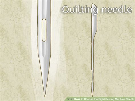 How To Choose The Right Sewing Machine Needle
