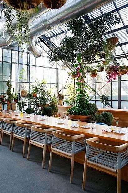 Greenhouse Commissary Indoor Restaurant Spotted Trendiest Stunning