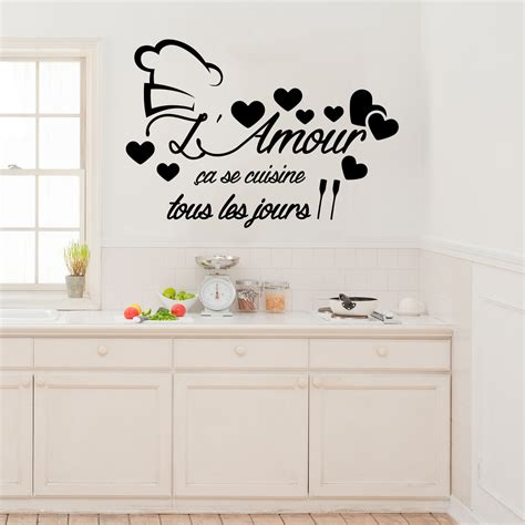 amour cuisine sticker citation l 39 amour ça se cuisine stickers