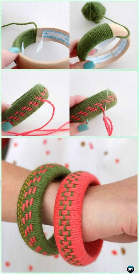 diy yarn crafts ideas projects  crochet