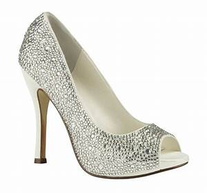 Everything But The Dress Crystal Bling Wedding Shoes