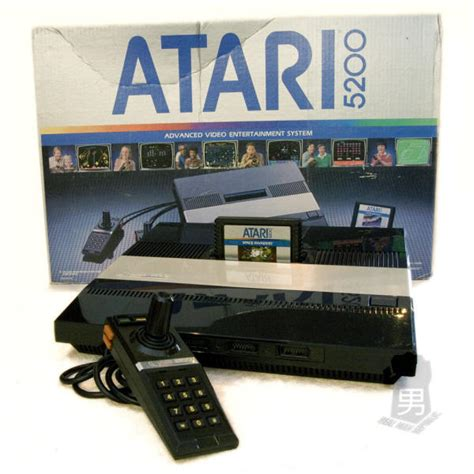 Atari 5200 Supersystem Video Game Console Library
