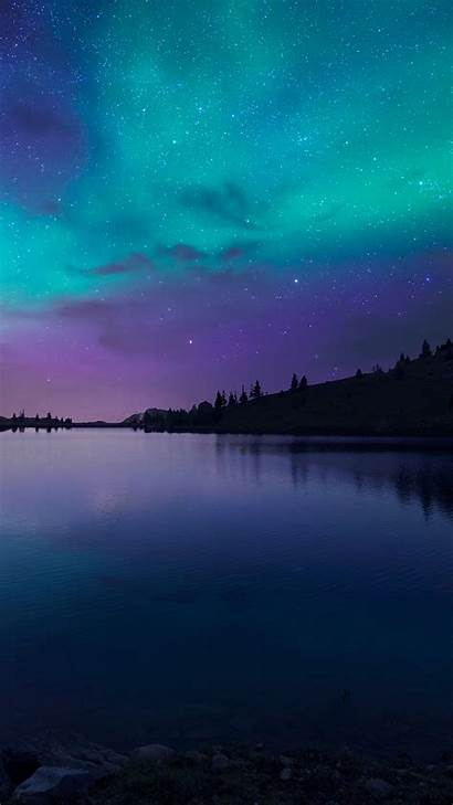 Iphone Wallpapers Lake Night Nature