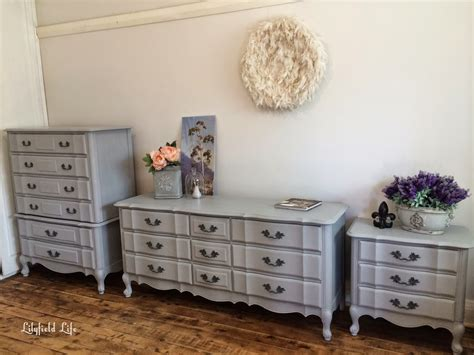 Ascp Paris Grey French Style Bedroom Furniture