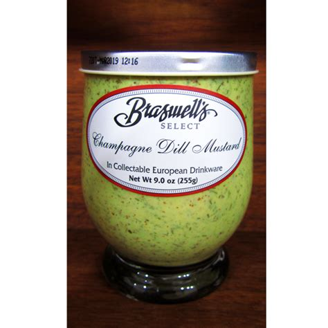 braswells champagne dill mustard