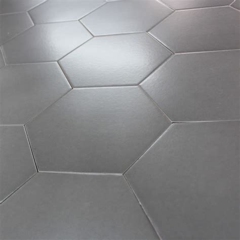 carrelage hexagonal gris slate sol et mur parquet carrelage