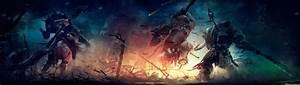 Battle Promo Left 4K HD Desktop Wallpaper For 4K Ultra HD