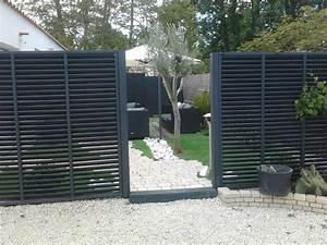 Panneau Brise Vue Composite : panneaux bois ~ Nature-et-papiers.com Idées de Décoration