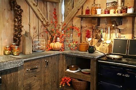 transform  kitchen   cozy fall oasis