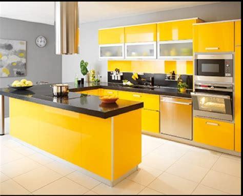cuisine jaune et noir repeindre sa cuisine de a à z et à petit prix deco cool