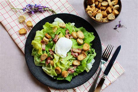 cuisine lyonnaise recettes salade lyonnaise délicieuse recette facile et rapide