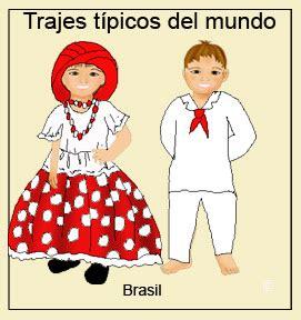 vestimenta y trajes tradicionales de brasil turismo org