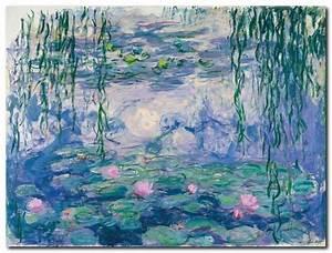 Vendita Claude Monet 'Ninfee' Quadro Stampa su Tela Canvas da 40x30cm per soli 36 00euro!!!