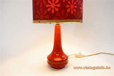red ceramic table l 1960s red ceramic table l vintage info all about