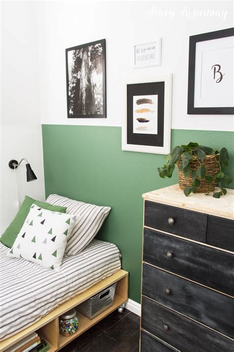 Vintage Green Boy Room Makeover!  Not Just A Housewife