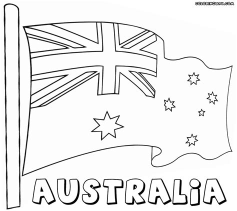 australian flag coloring page  kids bell rehwoldtcom