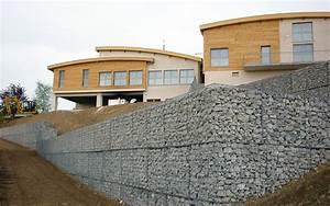 Mur De Soutenement En Gabion : sout nements divers font tp martinaud ~ Melissatoandfro.com Idées de Décoration