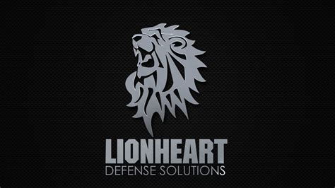 Lyonheart Logo by Lionheart Defense Solutions Logo On Vimeo