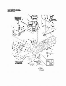 Craftsman Model 107250060 Lawn  Tractor Genuine Parts