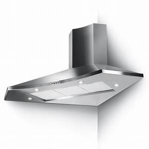 Hotte Aspirante D Angle : hotte d 39 angle solaris eg6 100x100cm 570m3 h inox faber ~ Dailycaller-alerts.com Idées de Décoration