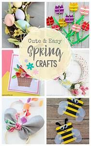 cute, , u0026, easy, spring, crafts, to, make