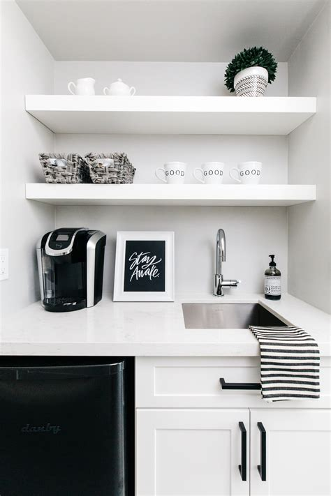Our House Reveal: Master Bedroom Coffee Bar
