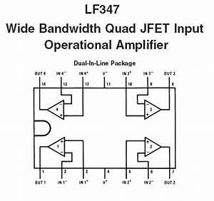 lf347 quad jfet op amp ic nightfire electronics llc With lm324 quad op amp