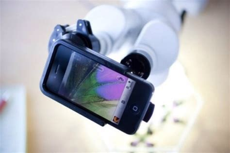 magnifi case turns microscopes  telescopes  iphone