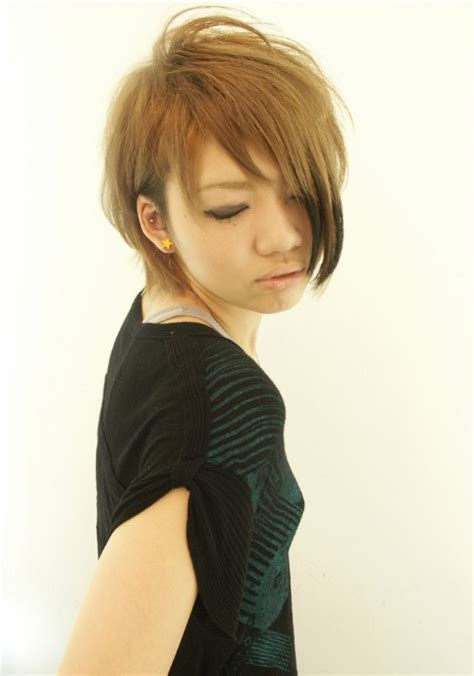 cute short japanese hairstyles  women hairstyles